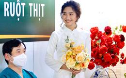 Xúc động đám cưới online của nữ điều dưỡng Hà Nội trong tâm dịch Sài Gòn: 5 ngày trước phải trốn trong nhà kho, một mình dự lễ ăn hỏi