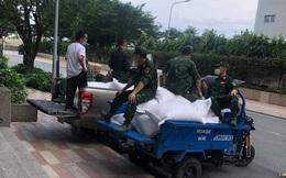 """""""Phát nhầm"""" 21 tấn gạo cứu trợ dịch Covid-19 cho cư dân Vinhomes, phường vội đi thu hồi"""