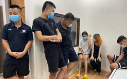 7 thanh niên tổ chức sử dụng ma tuý giữa tâm dịch