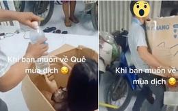 Cô gái gây tranh cãi vì đăng clip dạy cách 'lách luật' về quê giữa mùa dịch