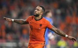 Hà Lan 4-0 Montenegro: Bay trên đôi cánh Depay