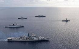 Ấn Độ, Singapore tập trận hải quân chung