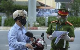 Hà Nội: Chưa xử phạt theo giấy đi đường mới trong 2 ngày 6 - 7/9