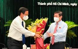 Ông Nguyễn Thành Phong bàn giao nhiệm vụ Chủ tịch TPHCM