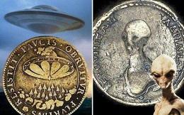 Hình ảnh UFO và người ngoài hành tinh xuất hiện trên đồng tiền cổ, giới chuyên môn 'dậy sóng': Kim tự tháp không phải do con người xây dựng?