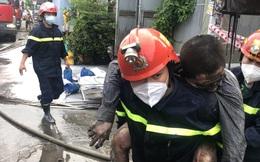 Cha đốt giấy gây cháy nhà khiến 3 người thương vong ở TP.HCM