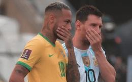 """NÓNG: 4 đồng đội của Messi bị cảnh sát """"hỏi thăm"""", đại chiến Brazil vs Argentina biến thành trò hề"""