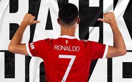 Ronaldo phấn khích vì được mang áo số 7 ở Man United
