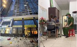 Cãi nhau với vợ, chồng ném vali quần áo, xoong chảo từ tầng 25 chung cư xuống đường, phẫn nộ nhất là để con chứng kiến