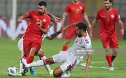 """Kết quả Syria vs UAE: Thêm một lần sảy chân, giấc mơ World Cup của UAE sắp """"tan thành mây khói""""?"""