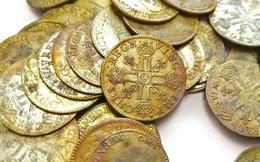 Phát hiện hàng trăm đồng tiền vàng, nhóm thợ xây có thể thu hơn 8 tỉ đồng