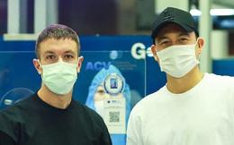 Văn Lâm hội ngộ cầu thủ Australia ở sân bay Nội Bài, cùng trở lại Nhật Bản thi đấu