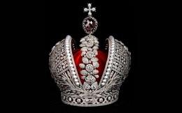 Lóa mắt trước hàng nghìn viên kim cương trên vương miện Hoàng gia Nga