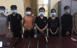 Ngăn chặn nhóm thanh niên giải quyết mâu thuẫn bằng... dao phóng lợn