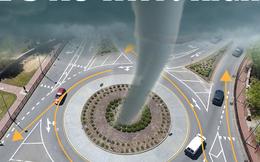 Liệu lái xe thành vòng tròn có thể tạo ra lốc xoáy không? Hãy nghe chuyên gia trả lời