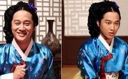 Cha Tae Hyun gây cười khi hóa thân thành kỹ nữ