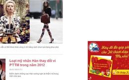 Quảng cáo trực tuyến: Nhiều nhãn hàng lớn ưa chuộng hình thức Balloon Ad