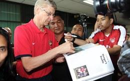 """Được tăng lương """"khủng"""", HLV Wenger từ chối PSG, ở lại Arsenal"""