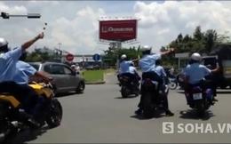 """TP.HCM: Nhiều xe môtô dẫn đoàn """"hộ tống"""" Nick Vujicic bị bắt"""