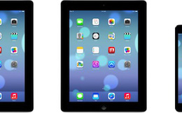 Hé lộ giao diện iOS 7 cho iPad, iPad mini