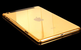 Chiêm ngưỡng bộ sưu tập iPad mạ vàng 24K