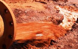 Hình ảnh mới nhất về hồ bùn đỏ tại nhà máy bôxít Tân Rai