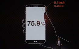 LG G2 sở hữu công nghệ màn hình siêu tiết kiệm điện