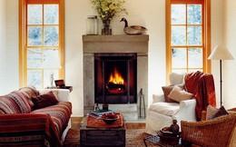 Mùa đông ấm áp trong căn nhà lãng mạn