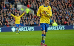 """Vòng 13 Premier League và những cái """"đỉnh"""": Gọi tên Ramsey, Nasri"""