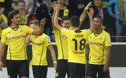 13 giây, 6 đường chuyền phản công điện xẹt kiểu Dortmund