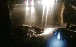 Bị xe tải kéo lê 25m, một người chết tại chỗ