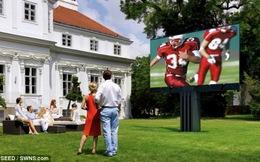 Chiêm ngưỡng chiếc tivi lớn nhất thế giới ở Áo