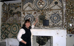 Độc đáo ngôi nhà được bao bọc bằng vỏ sò