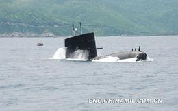"""""""Lộ"""" tàu ngầm hiện đại mới 100% của Hạm đội Nam Hải"""