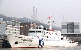 Trung Quốc đưa tàu trang bị vòi rồng tuần tra ở biển Hoa Đông