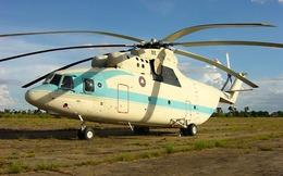 """""""Ông vua"""" trực thăng vận tải thế giới tại Campuchia"""