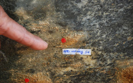 Bản đồ chủ quyền trên đá tự nhiên có một không hai
