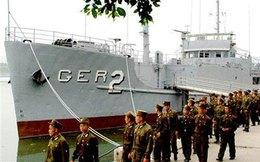 Hình ảnh tàu gián điệp Mỹ 'sa lưới' Triều Tiên