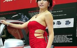 Chóng mặt vì độ tiếp thị cơ thể của chân dài Hàn Quốc