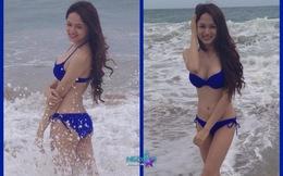 Hương Giang Idol lần đầu khoe body gợi cảm với bikini