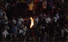 Đội nhà thua ngược, CĐV Thanh Hóa đốt khán đài