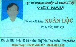 Nhà báo rởm lộng hành, cản trở xây chùa ở Thanh Hóa