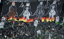 """Choáng với những """"khán đài nghệ thuật"""" của bóng đá thế giới"""