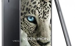 """Điện thoại """"không viền màn hình"""" Vega Iron chính thức trình làng"""