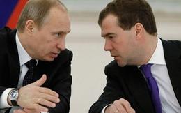 Tổng thống Putin 'ngầm cảnh cáo' Thủ tướng Medvedev?