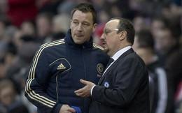 """JohnTerry bất ngờ """"hạ giọng"""" trước Benitez"""