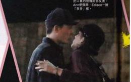 Trần Quán Hy ôm hôn người  tình mới trên đường phố