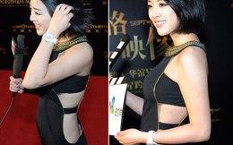 Hoa hậu Thế giới 2012 Vu Văn Hà hớ hênh lộ nội y phản cảm