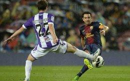Thắng nhẹ Valladolid, Barcelona tiến gần kỷ lục Real