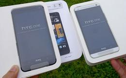 HTC One màu bạc 'cháy' hàng tại TP.HCM